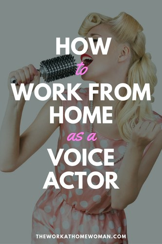 How to Work From Home as a Voice Actor