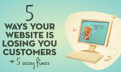 5 Reasons Why You're Losing Online Customers + 5 Easy Fixes