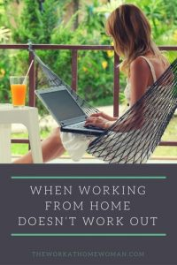 When Working from Home Doesn't Work Out